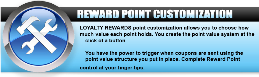 fbm reward point customization