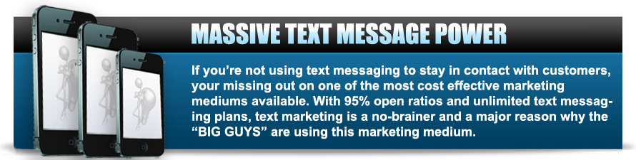 SMS Text Messaging Power