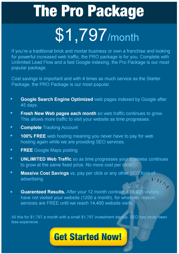 Local SEO Pro Package
