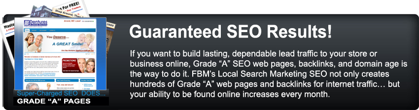 FBM SEO Guaranteed Results