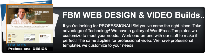 FBM Web Design & Video